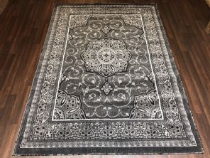 Modern Rugs Approx 7x5 150x210cm Woven Carved Design Top Quality Greys Stunning